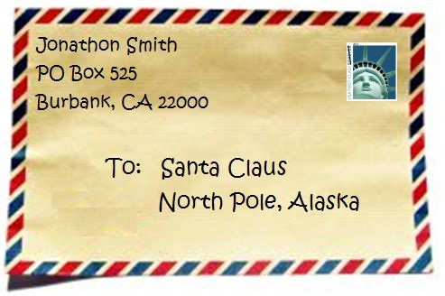Write a letter to santa santa chats according to usps santa mail instructions send letters addressed to santa claus north pole alaska just like this spiritdancerdesigns Images